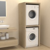 Column cover furniture for washing machine