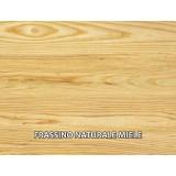 Etagère sur mesure en bois massif bord irrégulier