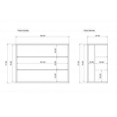 Unité de stockage porte-extensions consolle