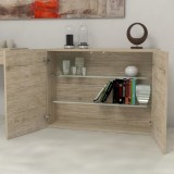 Consolle extensions-rack storage unit with doors