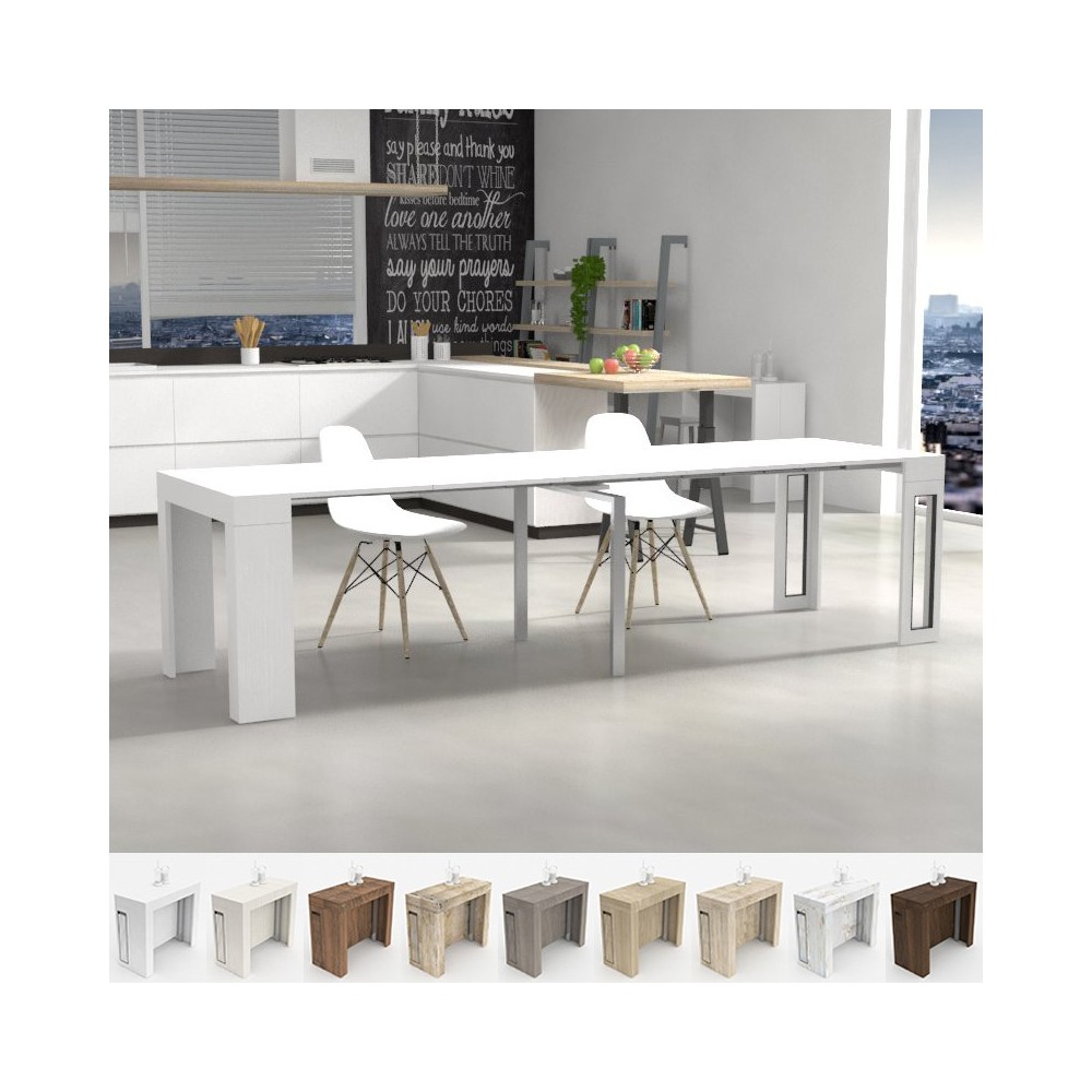 Tavoli da cucina consolle allungabile tavolo mercurio for Consolle per cucina