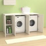 Riga 175 cm Washing machine cover with doors