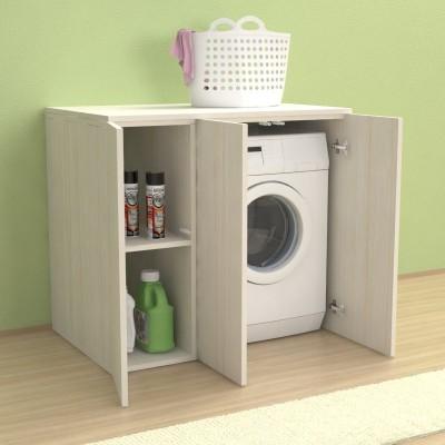 Meuble couvercle machine à laver Riga 105 cm avec portes