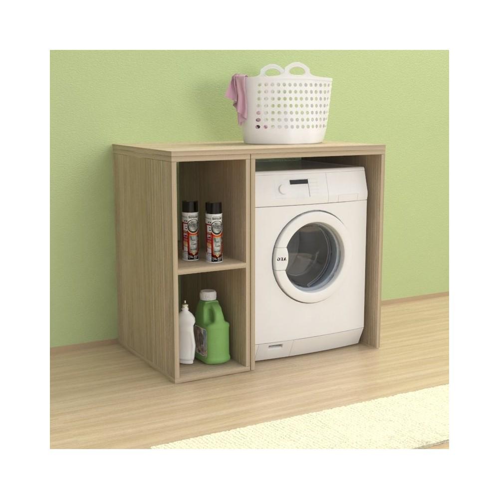 Mobile Colonna Lavatrice Asciugatrice mobile lavanderia riga 105 cm