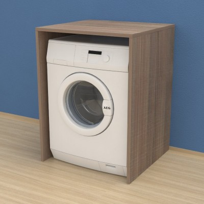 Washing machine furniture cover