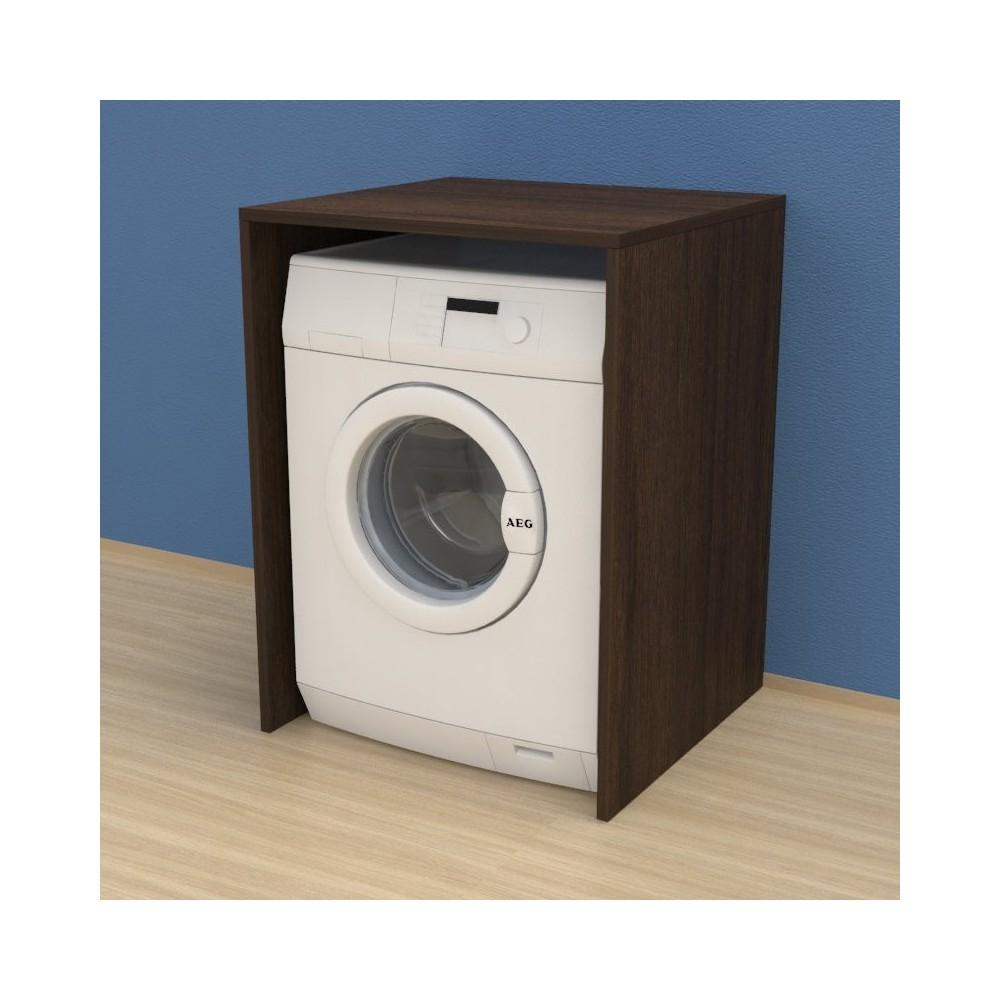 Meuble Lave Linge Seche Linge Colonne meuble couvercle machine à laver - buanderie