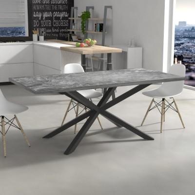 Tavolo da cucina Hawaii effetto marmo