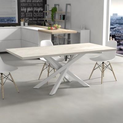 Tavolo da cucina Polinesia effetto marmo