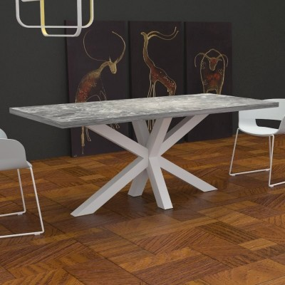 Salomone Kitchen Table marble effect