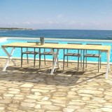 Outdoor Extensible console Cross with extensions-rack