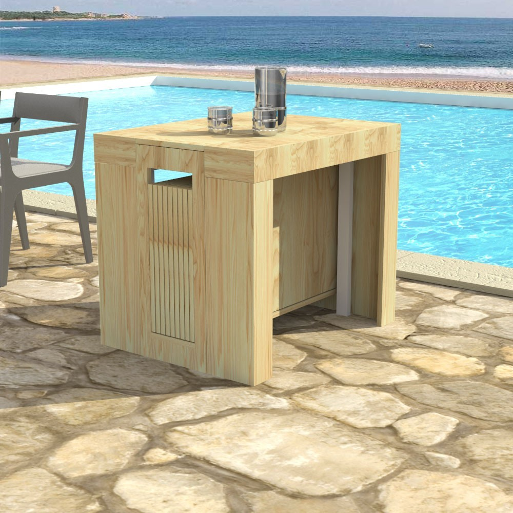 Outdoor Extensible console Plutone