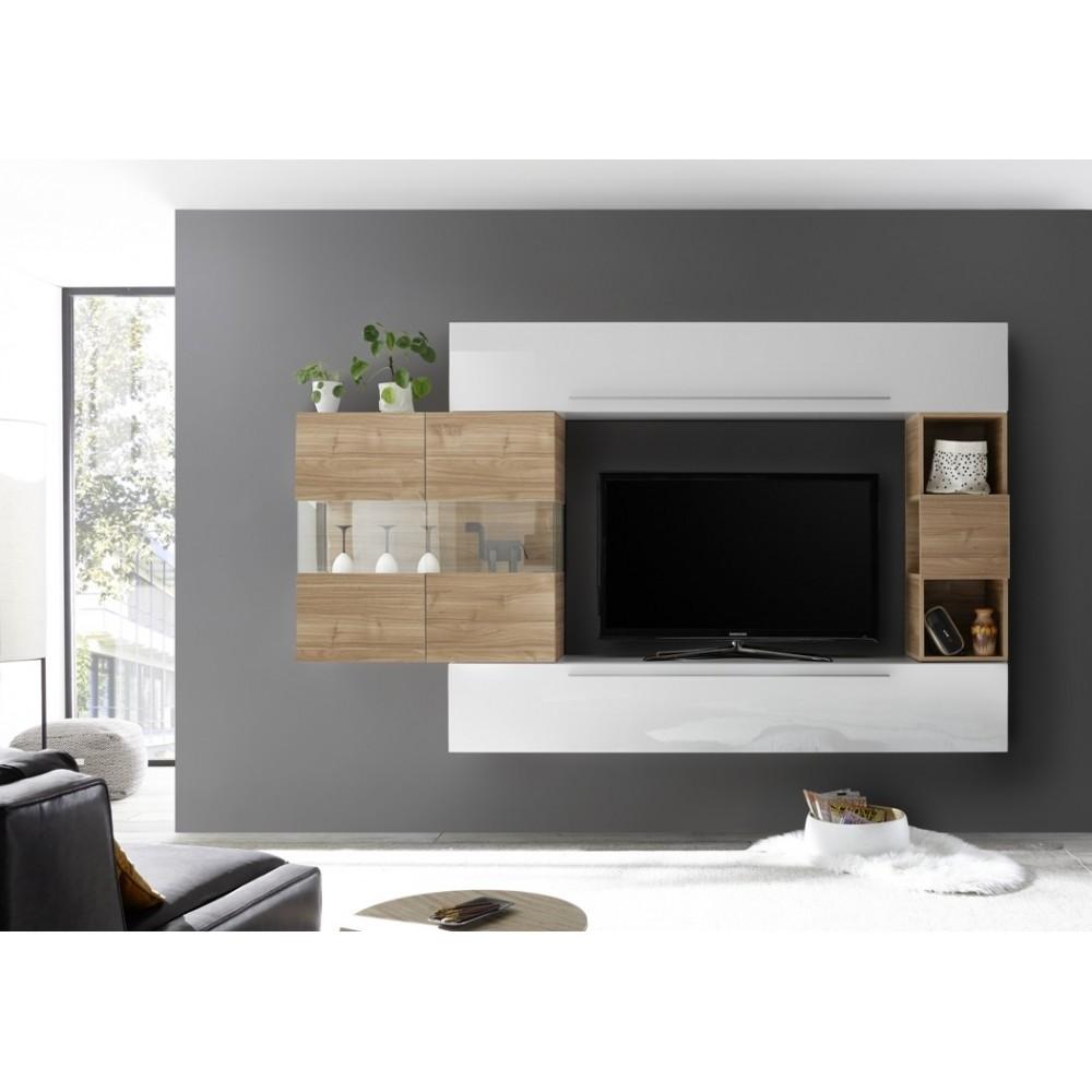 meuble de rangement salon tolosa meuble salon. Black Bedroom Furniture Sets. Home Design Ideas