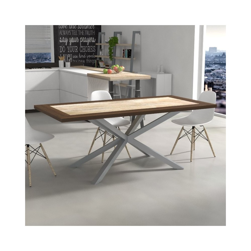 Hawaii Table with bicolored top