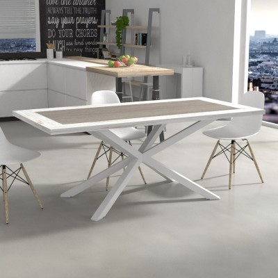 Table Hawaii avec bicolored bois
