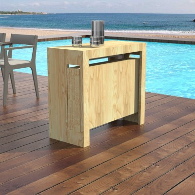 Outdoor Extensible console Mercurio