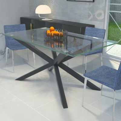 Table en verre Hawaii