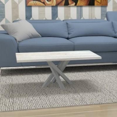 Tavolino basso Polinesia - telaio alluminio