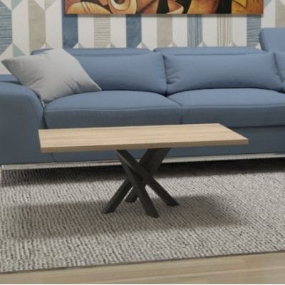 Polinesia Coffee Table for living room black structure