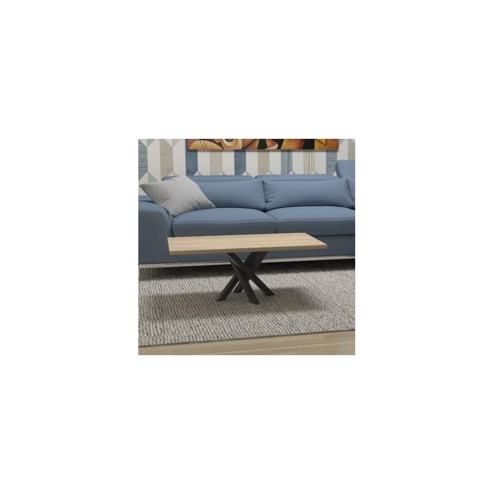 Table Polinesia Basse Structure Design Noir 35jL4RAq