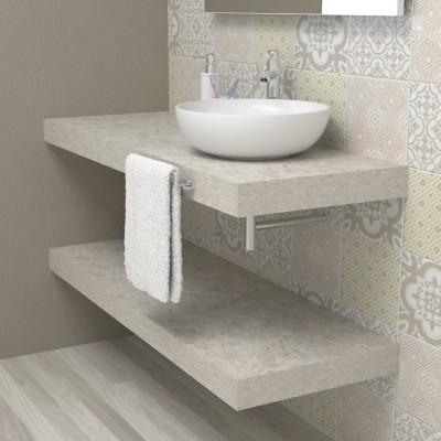 Mensola lavabo sospesa - Pietra di Nanto