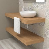 Wash basin shelf - HUB durmast