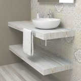 Wash basin shelf - Shabby chic