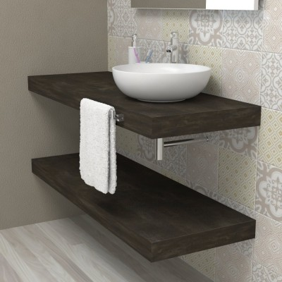 Wash basin shelf - Vulcanic