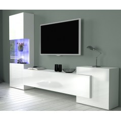 Meuble de rangement salon New Mit White