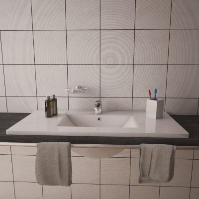 Lavabo encastré salle de bain Fresh 102