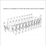 Extensible console Plutone with extensions-rack