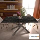 Table Polinesia in laminam