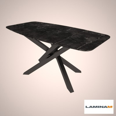 Table Polinesia in laminam
