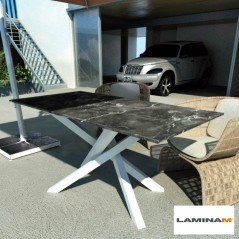 Polinesia laminam table for outside