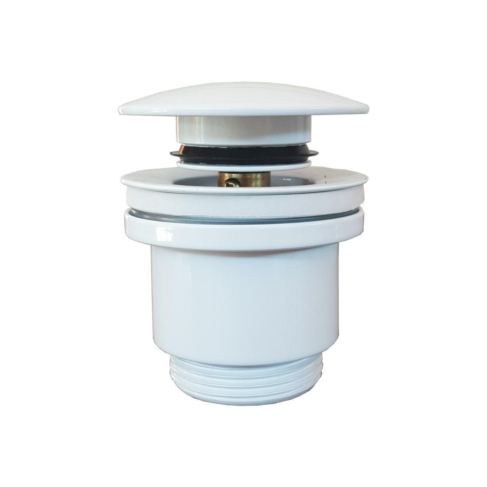Click Clack White wash basin drain