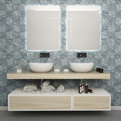 Thor - Meuble salle de bains complet