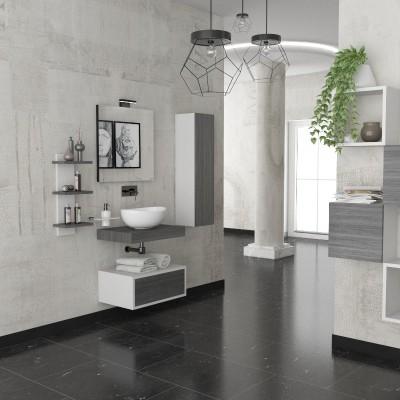 Form - Meuble salle de bains complet