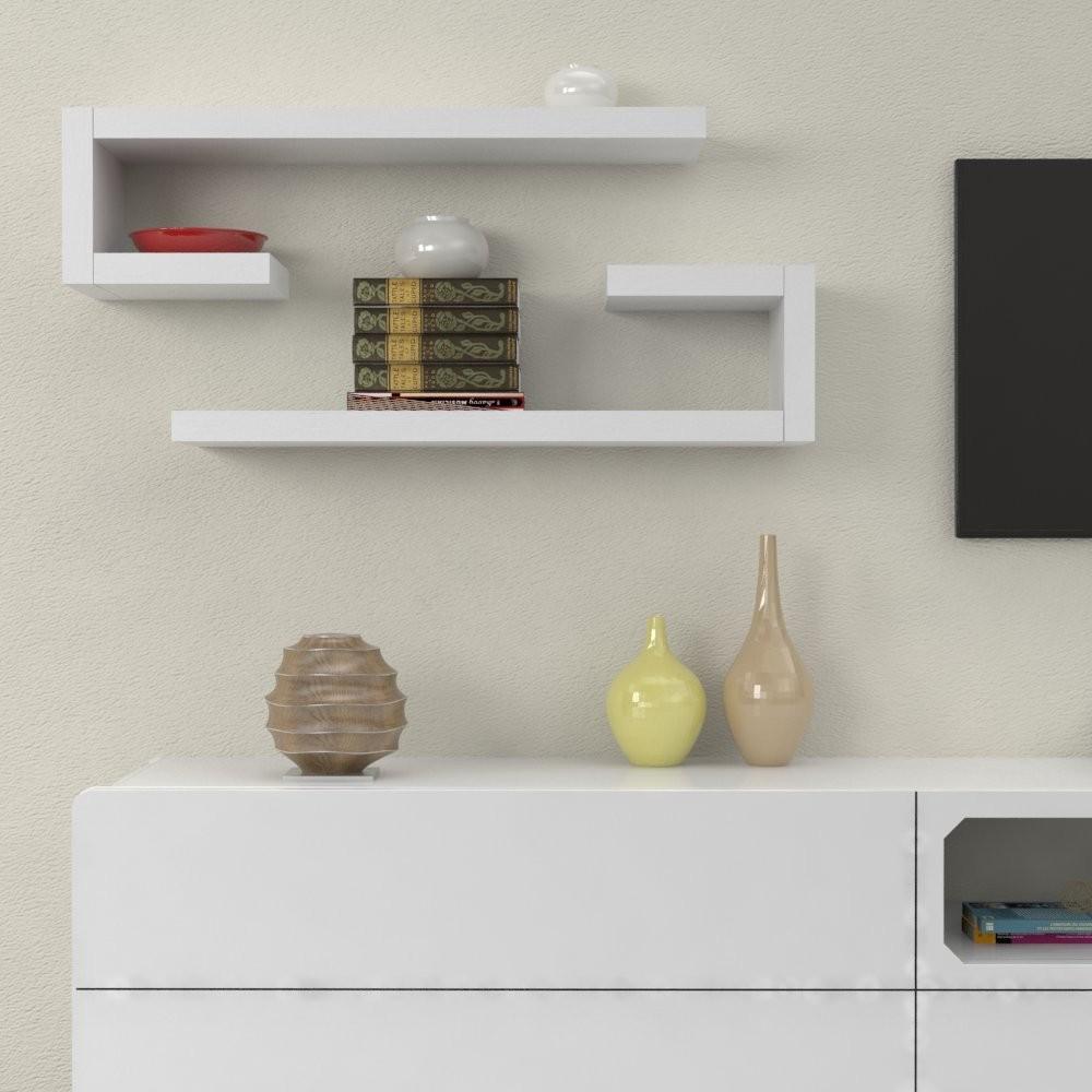 Eccezionale Mensole in legno ad L - Mensole design arredo EL34