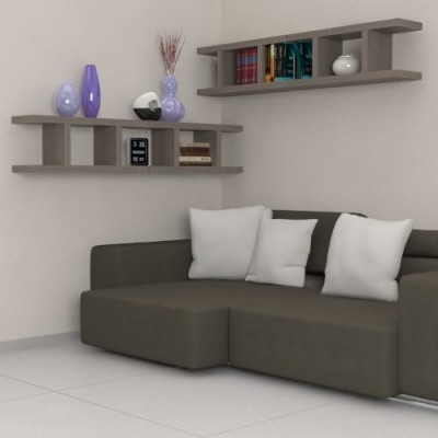 Armony Wooden Shelves