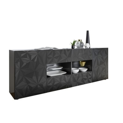 """""""Exagon"""" 241 cm with drawers sideboard - white"""