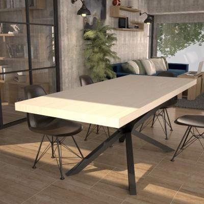 Table extensible Hawaii avec porte extensions