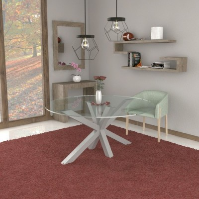 Table en verre Salomone