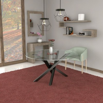 Polinesia glass table