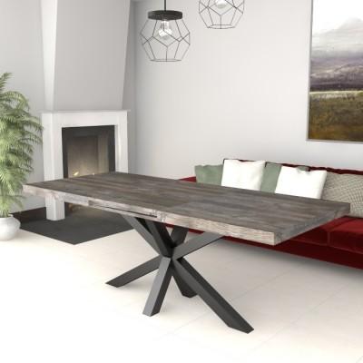 Table extensible Salomone avec porte extensions