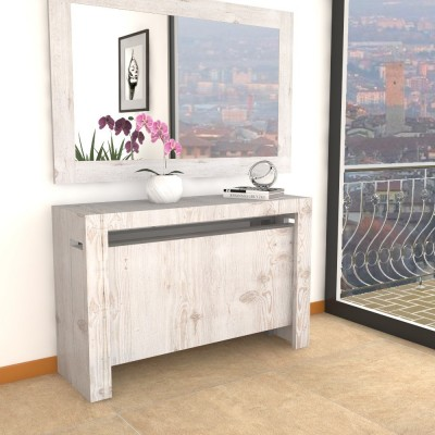 Extensible console Mercurio XXL with extensions-rack