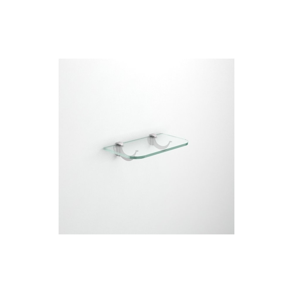 Mensole in vetro con angoli arrotondati spessore 12 mm