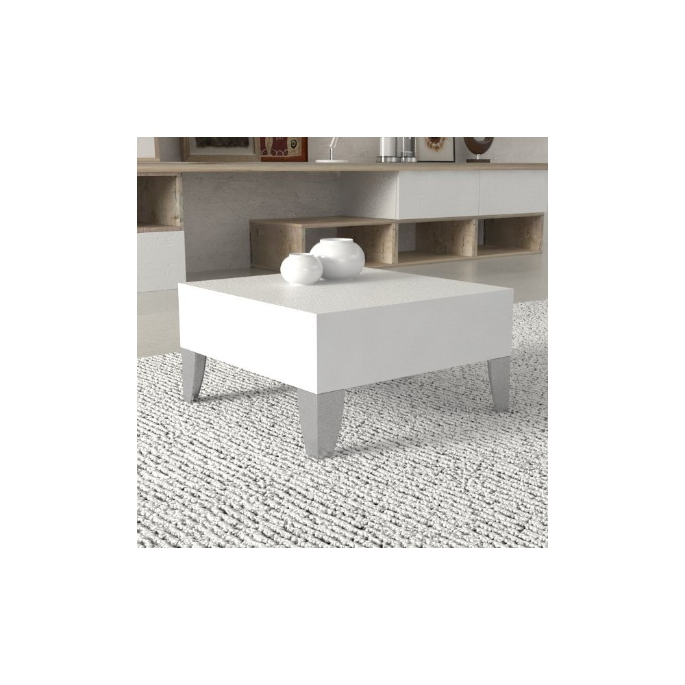 Tavolino Basso Per Salotto.Tavolino Basso Milton 50x50 Cm