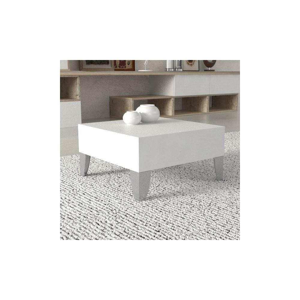 Tavolino basso - Tavolini Milton 50x50 cm