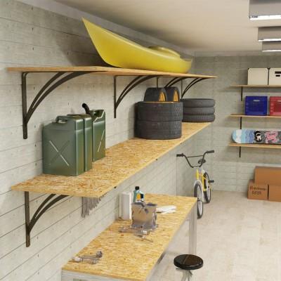 Mensole garage su misura
