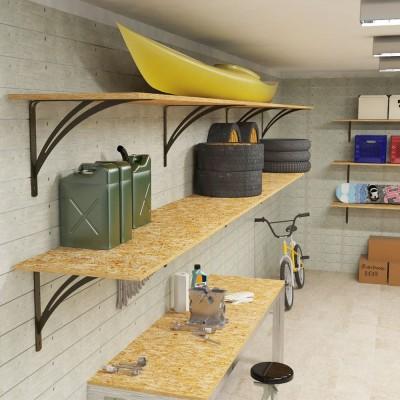 Liberty garage shelf brackets