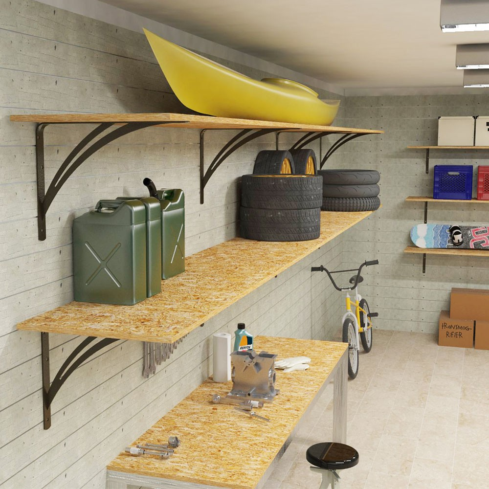 leg and storage workbench diy shelving shelf co outer the curlyque duplicated garage second from your shelves you then for board perfectly a have first